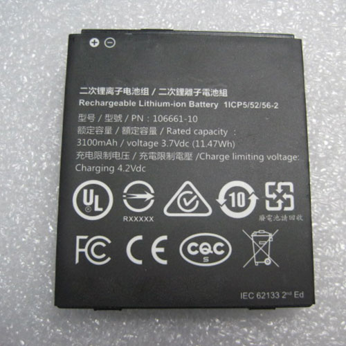 3.7V/4.2V Trimble 106661-10 Akkus