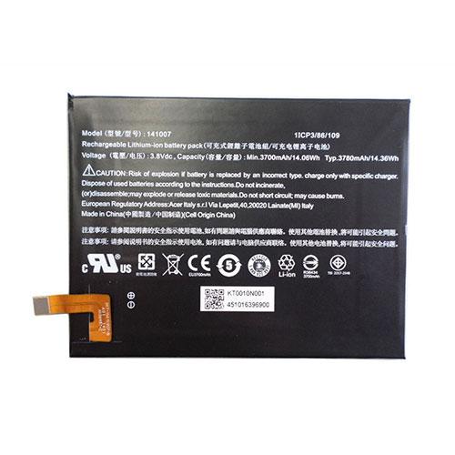 3.8V Acer 141007 Akkus