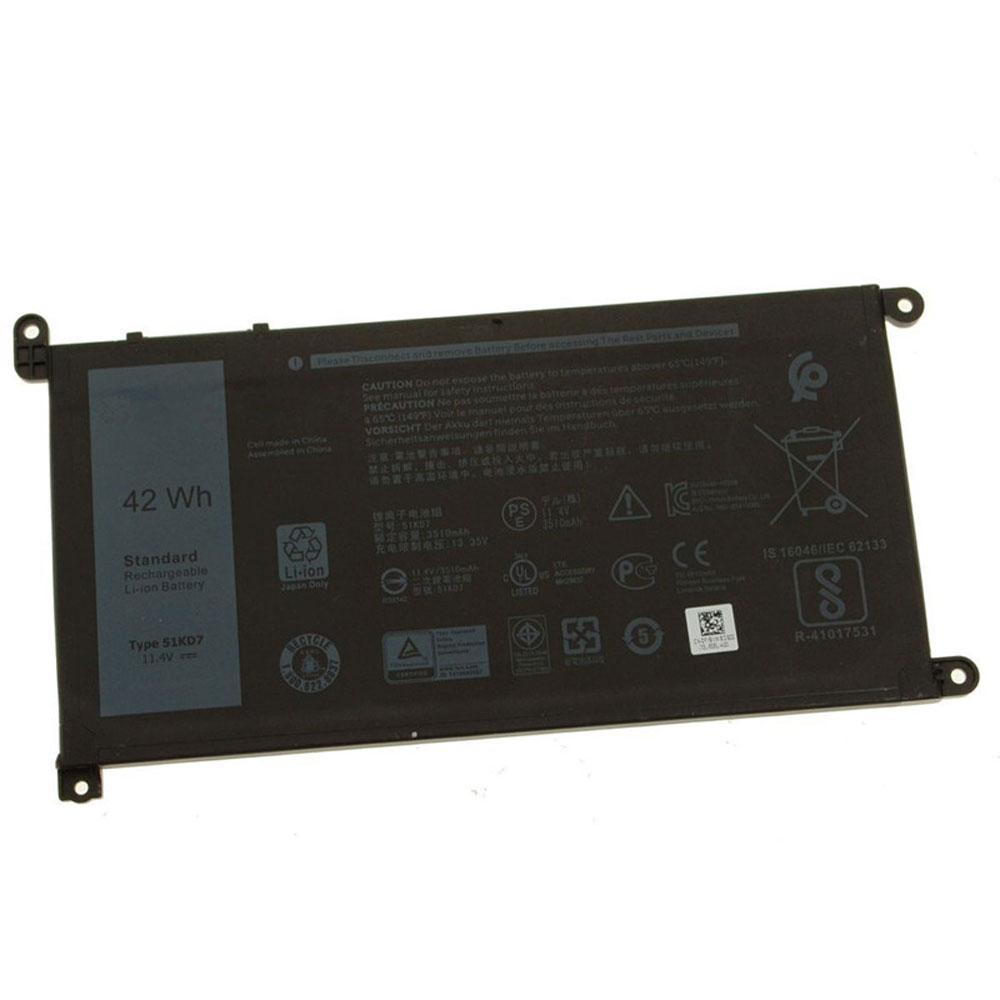 11.4V Dell 51KD7 Akkus