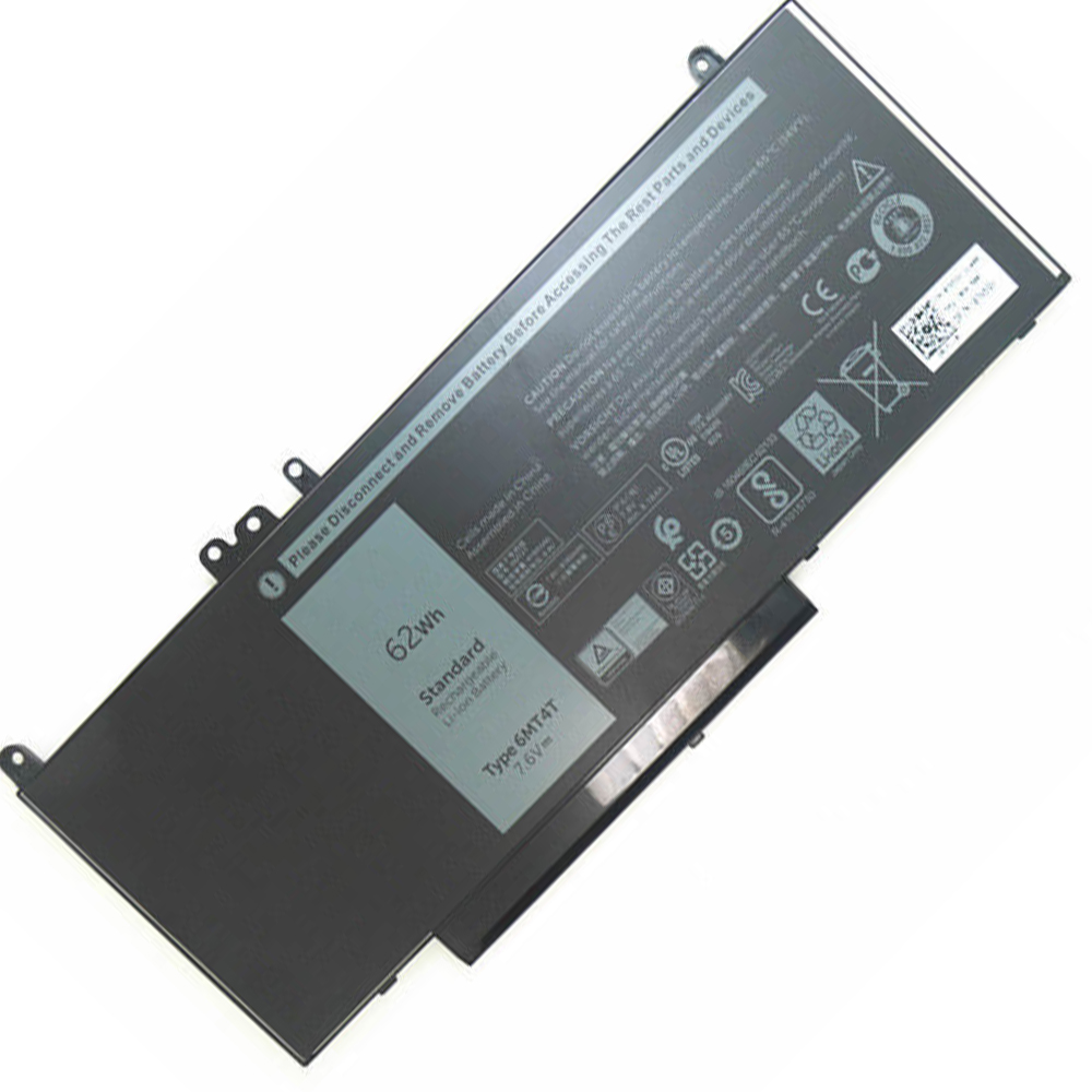 7.6V(compatible with 7.4V) Dell 6MT4T Akkus