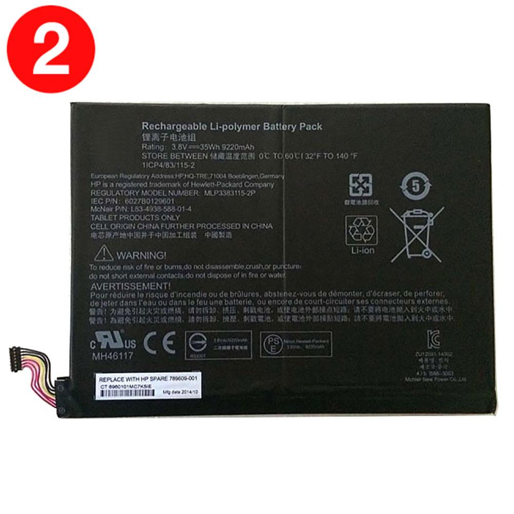 789609-001 35Wh/9220mAh 3.8V laptop akkus