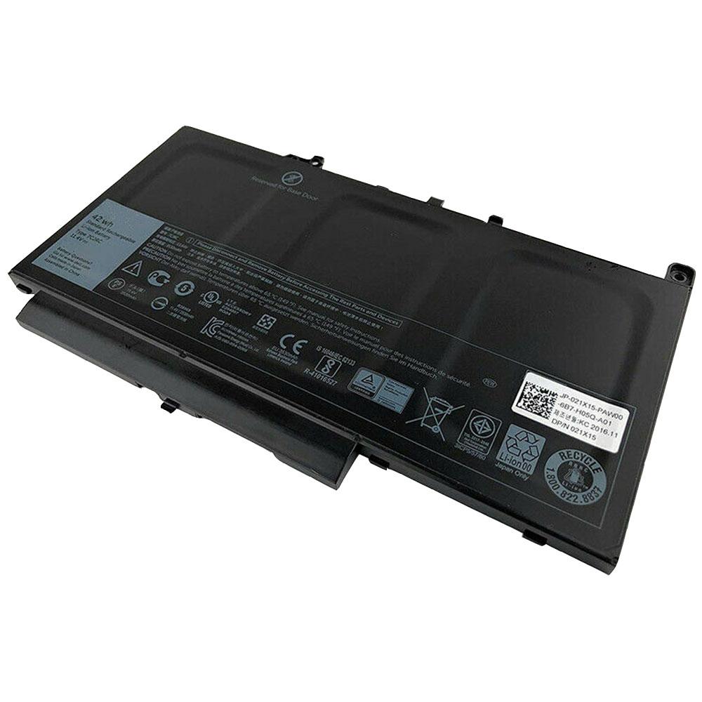 11.4V Dell 7CJRC Akkus