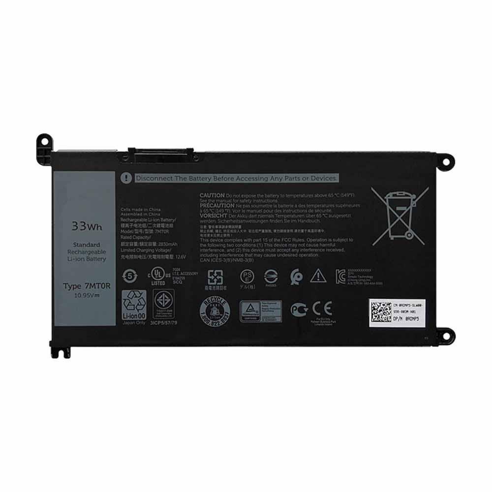 10.95V Dell 7MTOR Akkus