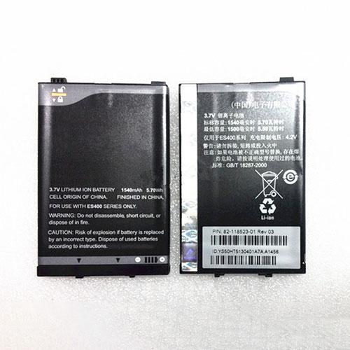 3.7V/4.2V Motorola 82-118523-01 Akkus