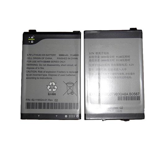 3.7V/4.2V Motorola 82-118524-03 Akkus