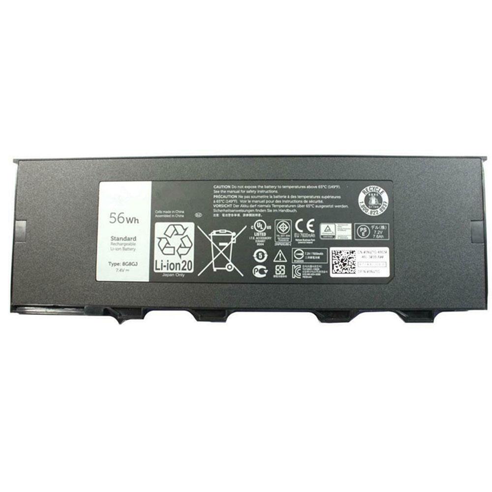 7.4V Dell 8G8GJ Akkus