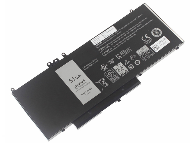 G5M10 51Wh 7.4V laptop akkus