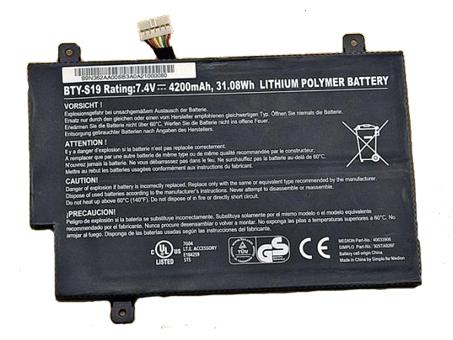 110W 4200mah / 31.08Wh 7.4V laptop akkus