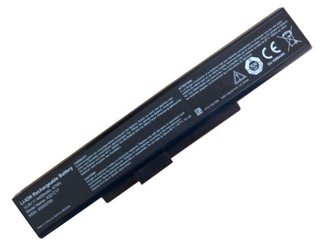 10.8V(Not compatible 14.4V) MEDION A32-C17 Akkus
