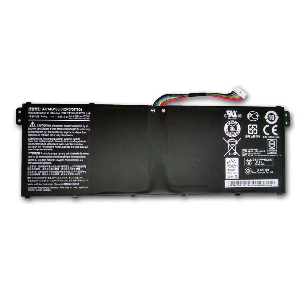 11.4V Acer AC14B18 Akkus
