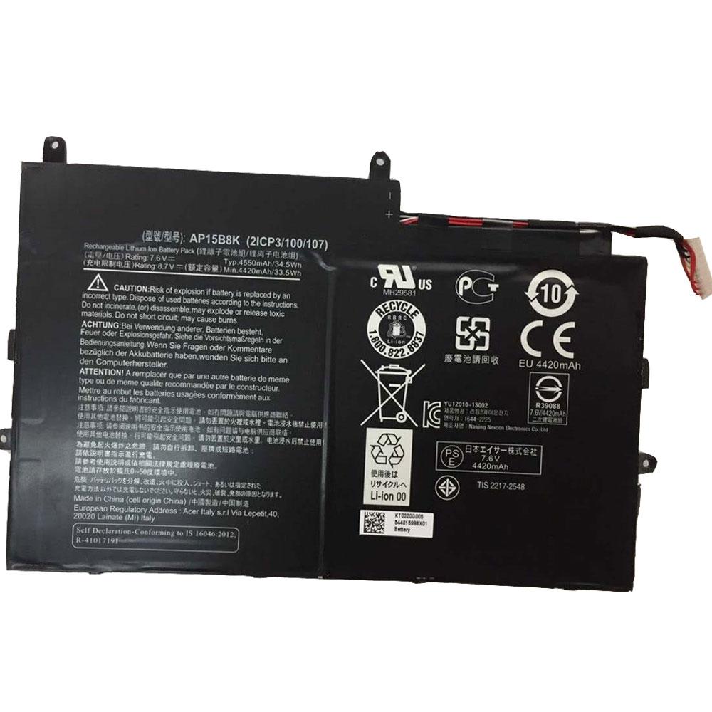 7.6V Acer AP15B8K Akkus