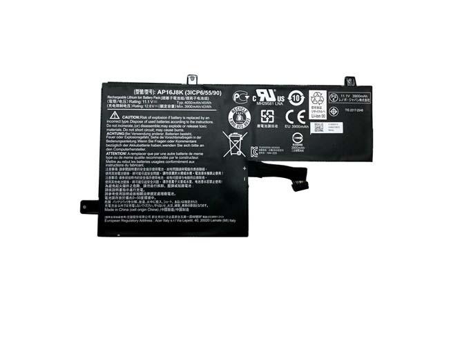 11.1V Acer AP16J8K Akkus