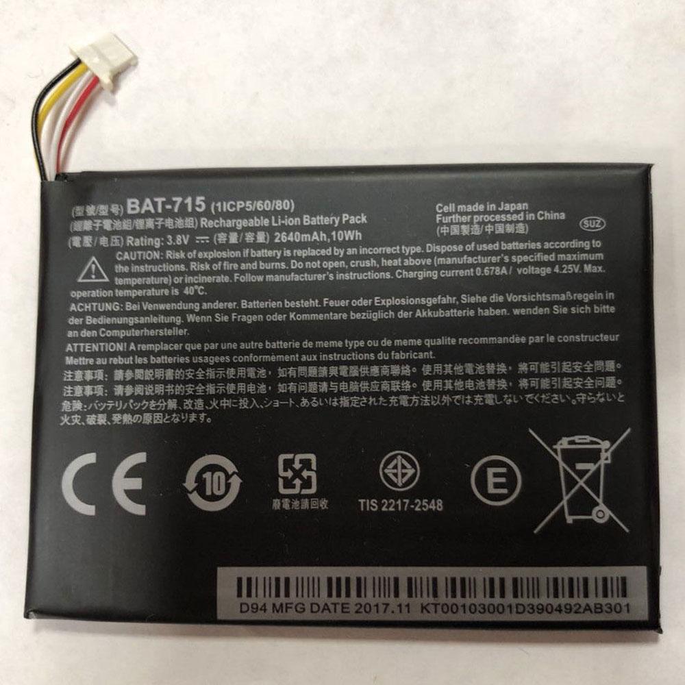 3.7V Acer BAT-715 Akkus