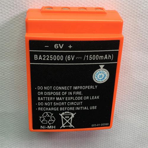6V HBC BA225000 Akku