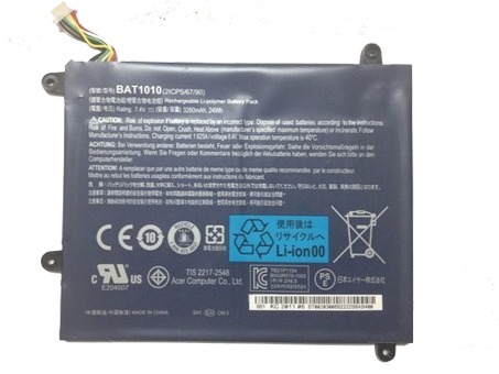 7.4V Acer BAT1010 Akkus