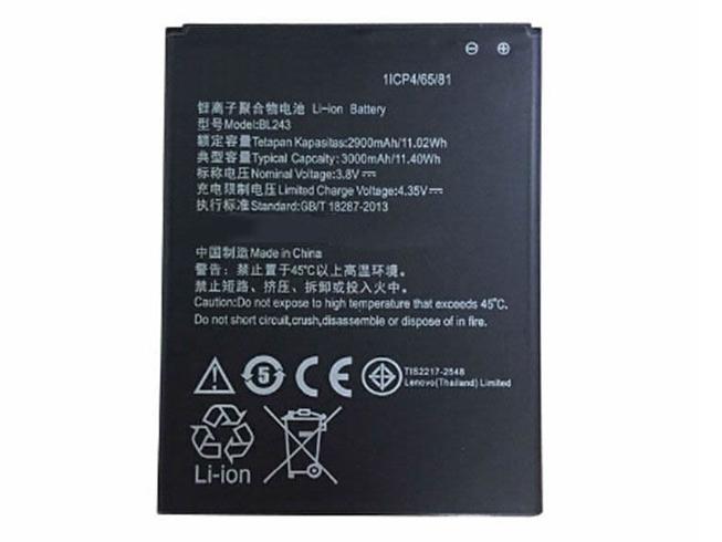 3.8V Lenovo BL243 Akkus