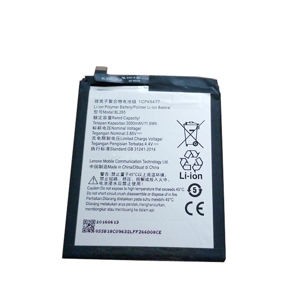 3.8V Motorola BL265 Akkus