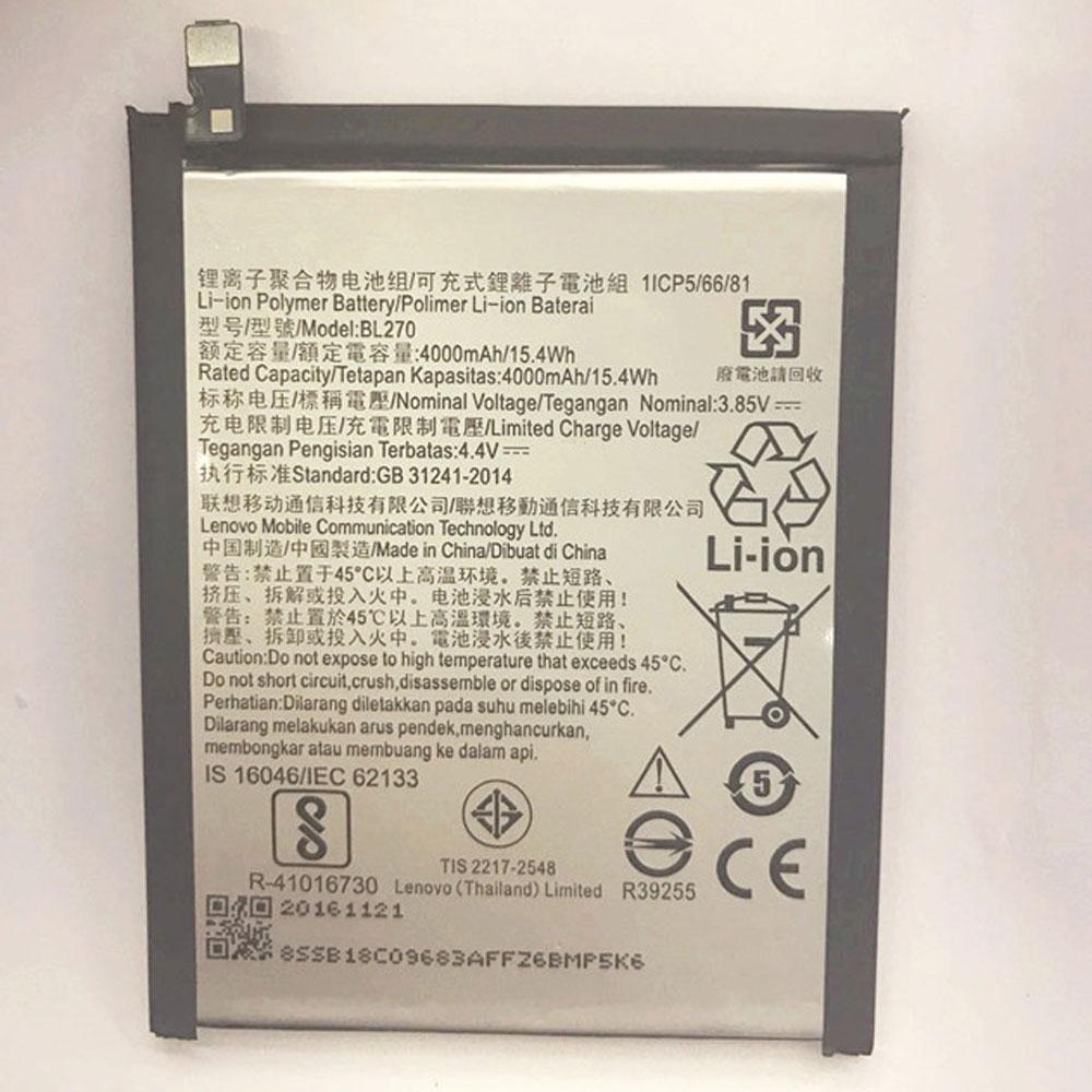 3.85V/4.4V Lenovo BL270 Akkus