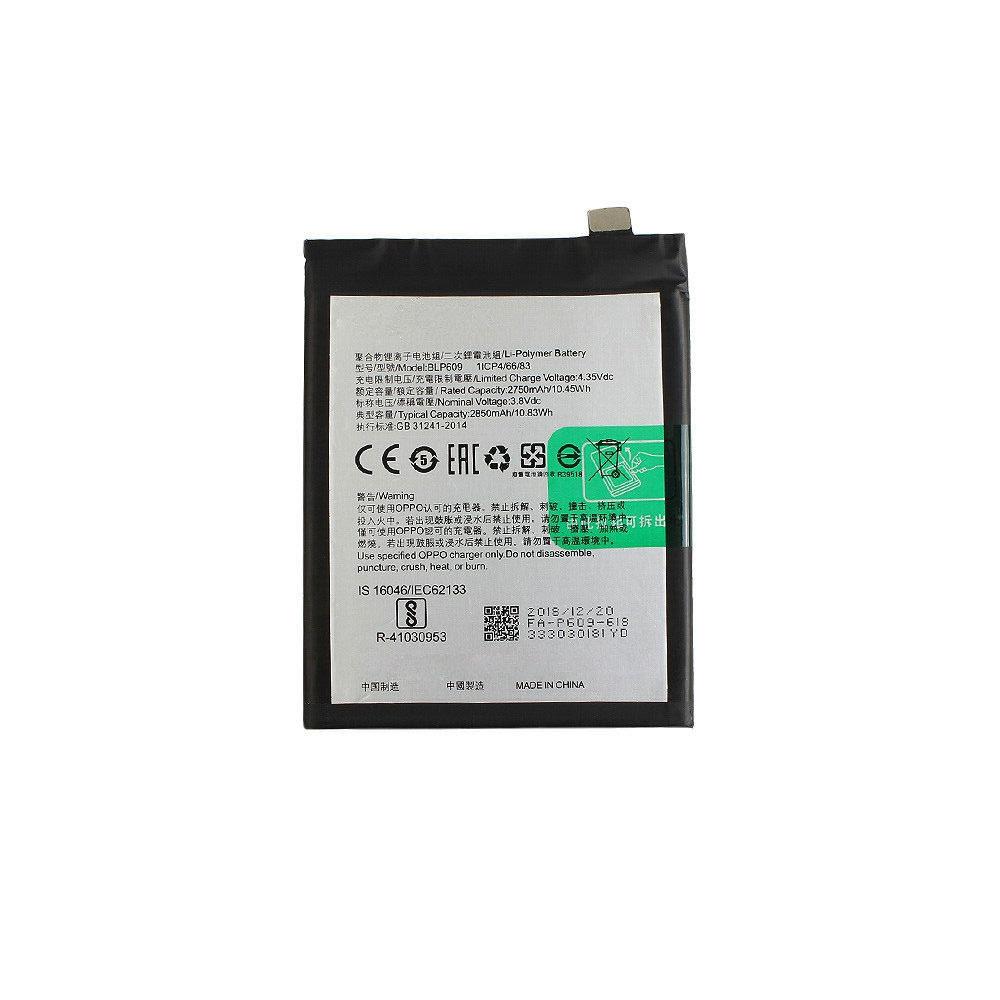 3.8V/4.35V Oppo BLP609 Akkus
