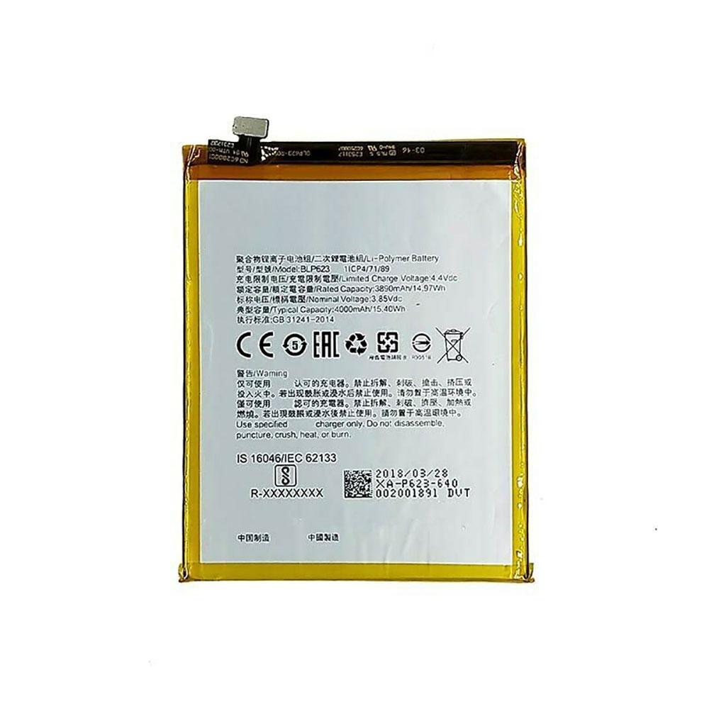 3.85V/4.4V Oppo BLP623 Akkus