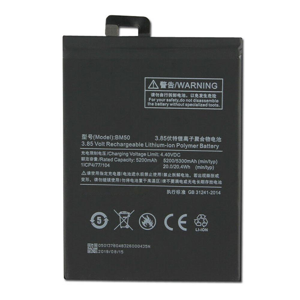 3.85V/4.4V Xiaomi BM50 Akkus