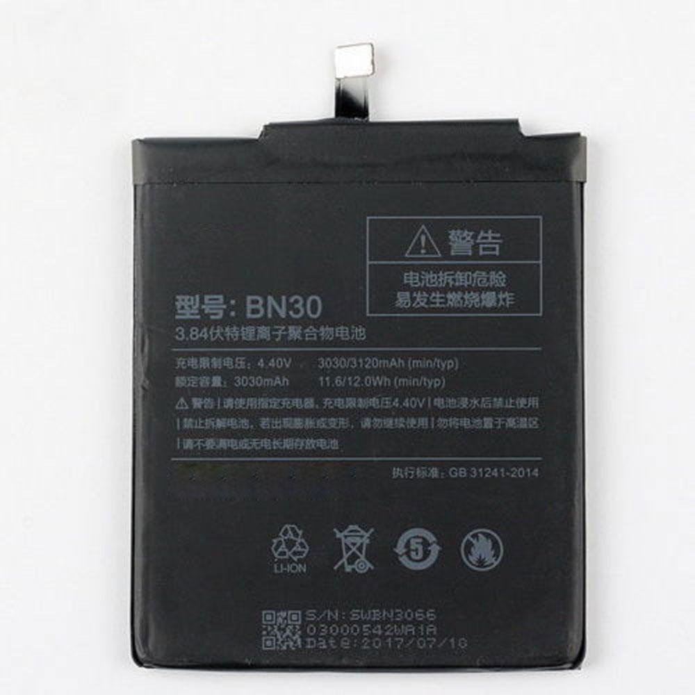 3.84V/4.4V Xiaomi BN30 Akkus