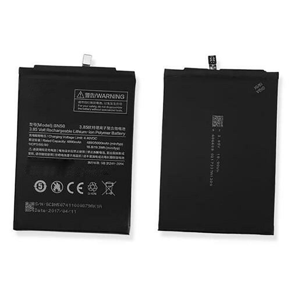 3.85V/4.40V Xiaomi BN50 Akkus