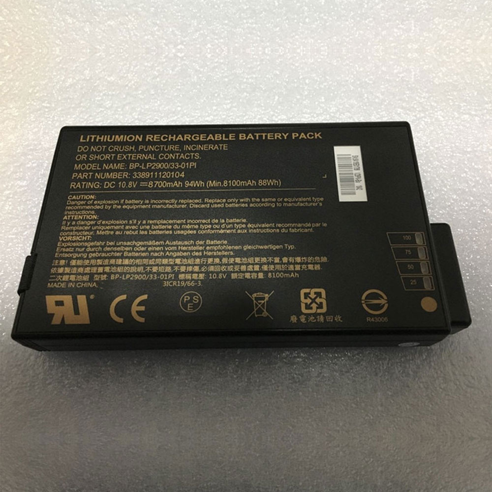 BP-LP2900/33-01PI 94Wh/8700mAh 10.8V laptop akkus
