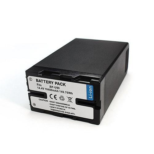 14.4V Sony BP-U90 Akku