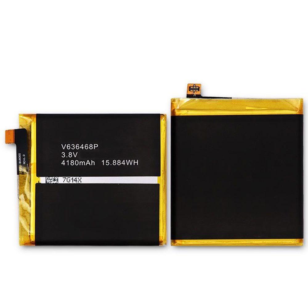 3.8V Blackview V636468P Akkus