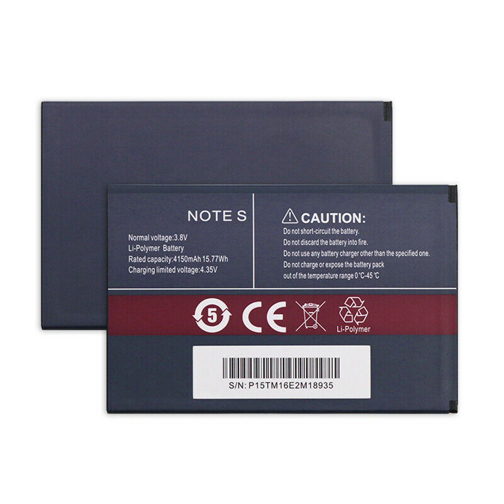 note_S 4150mAh /15.77Wh 3.8V/4.35V laptop akkus