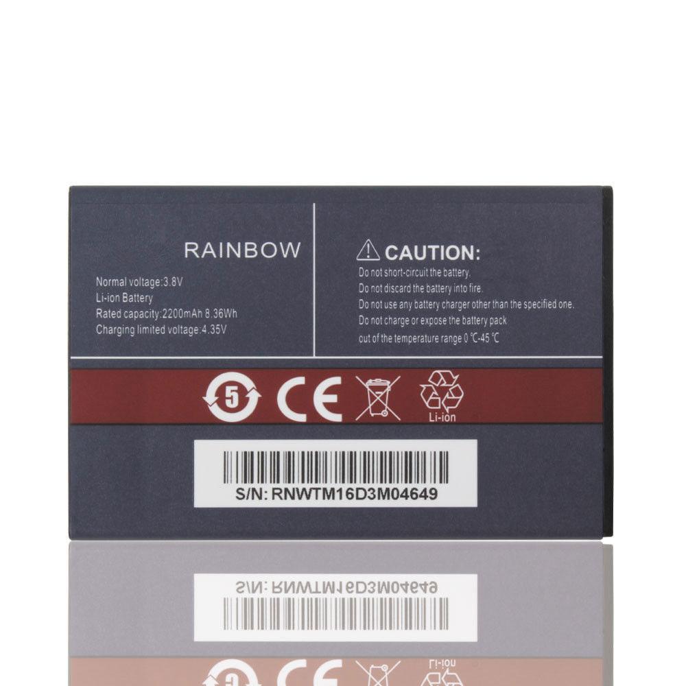 3.8V/4.35V Cubot Rainbow Akkus