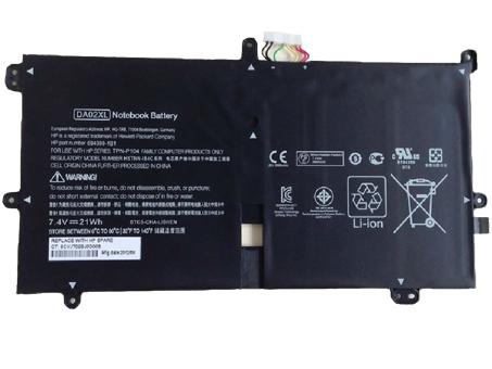 7.4V HP DA02XL Akkus