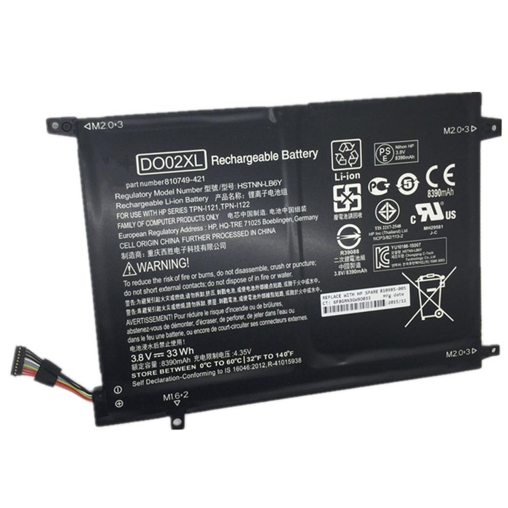 3.8V HP DO02XL Akkus