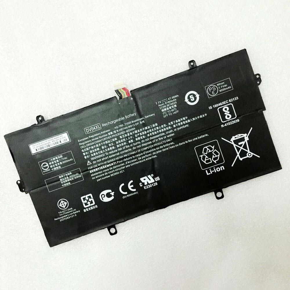 7.7V/8.8V HP DV04XL Akku