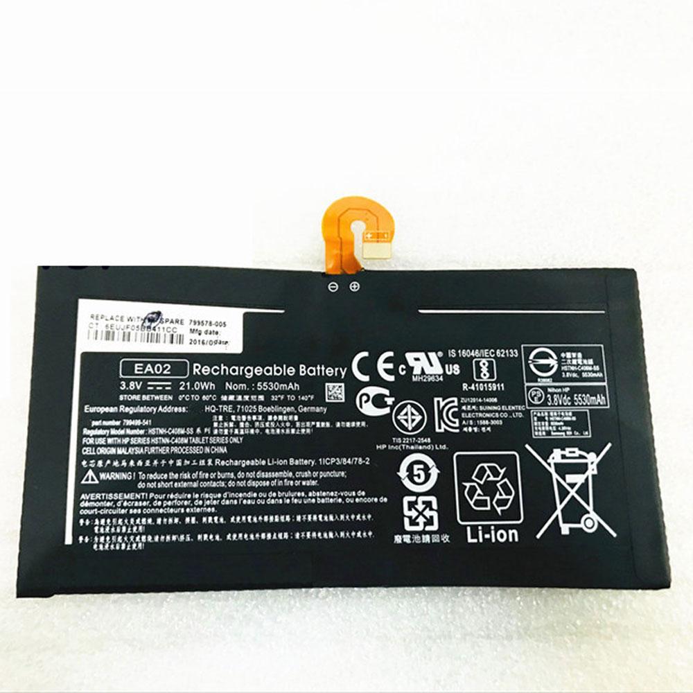 3.8V HP EA02 Akkus