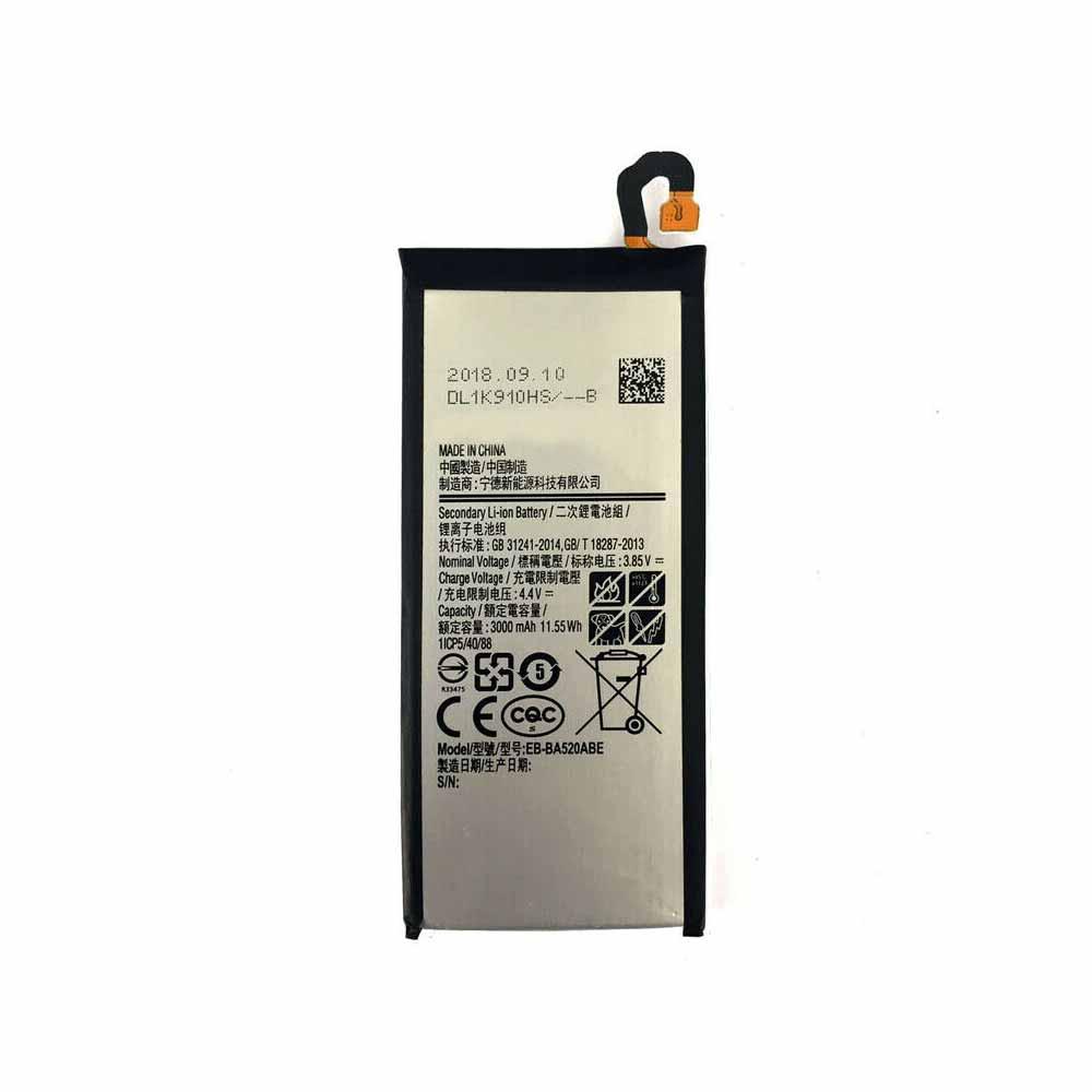 3.85V/4.40V Samsung EB-BA520ABE Akkus