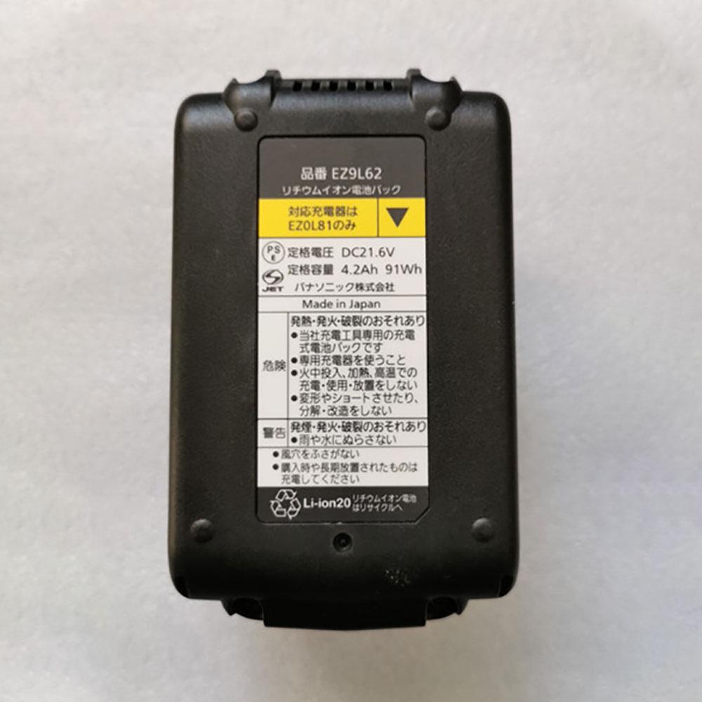 21.6V Panasonic EZ9L62 Akkus