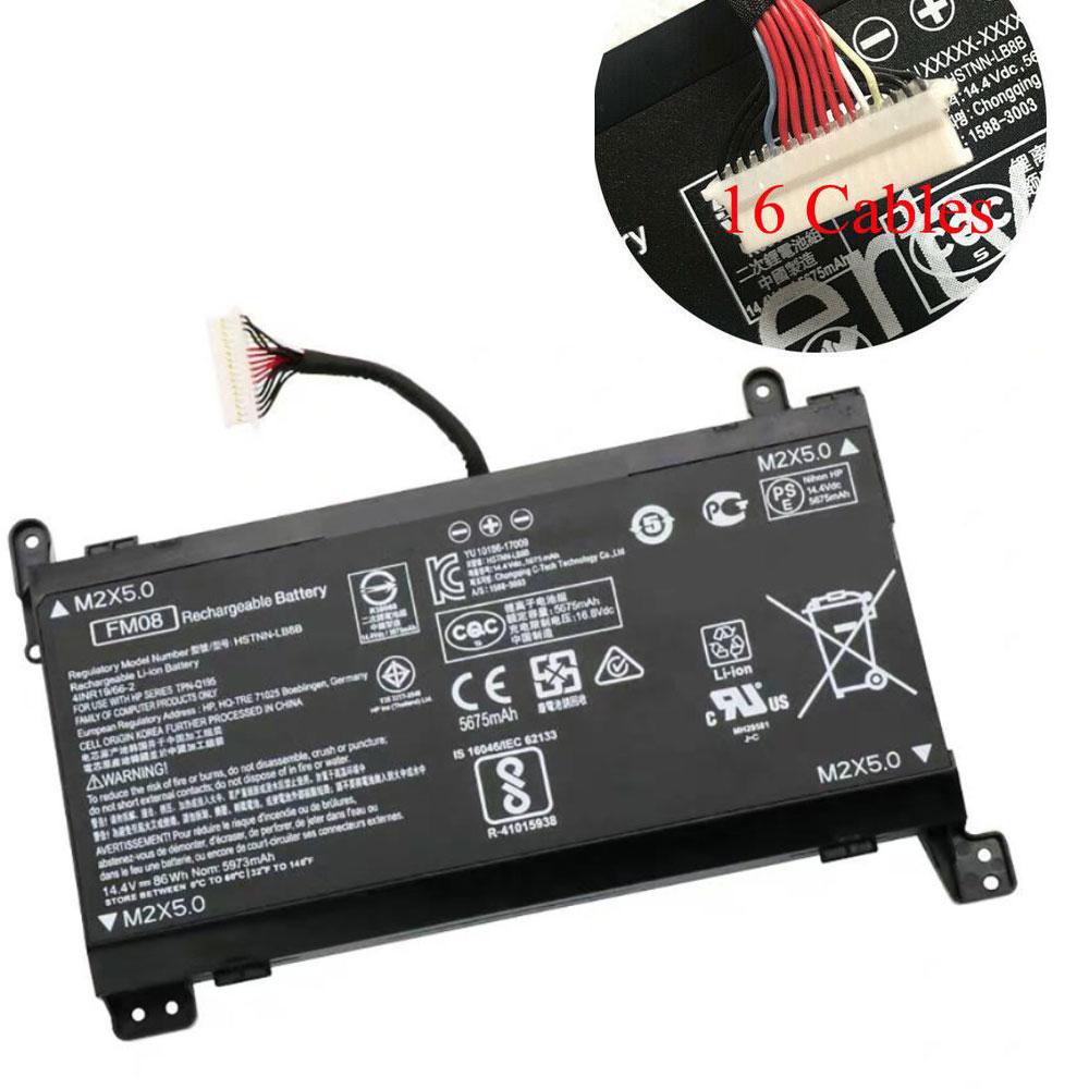 FM08 5675mAh/86WH 14.4V/16.8V laptop akkus