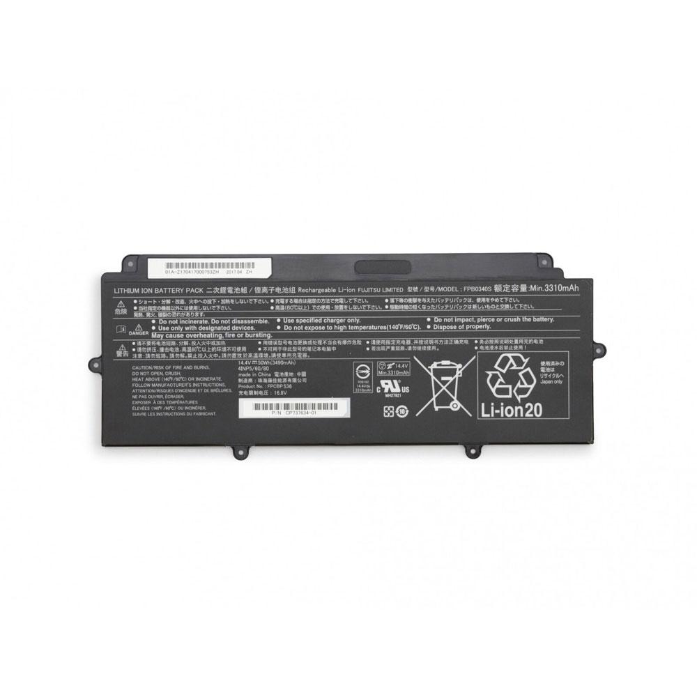 14.4V/16.8V Fujitsu FPCBP536 Akkus