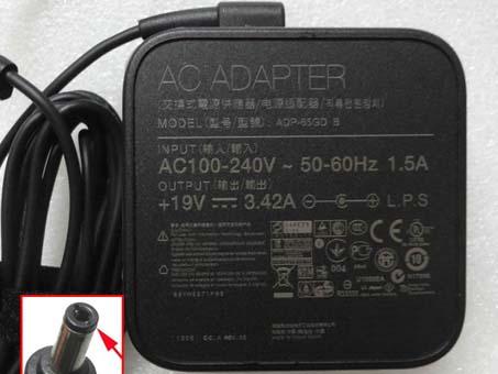19V  3.42A, 65W Toshiba PA3714U-1ACA adapter