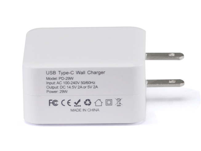 14.5V 2A(USB-PD) 5.2V 2.4A 29W APPLE Apple adapter