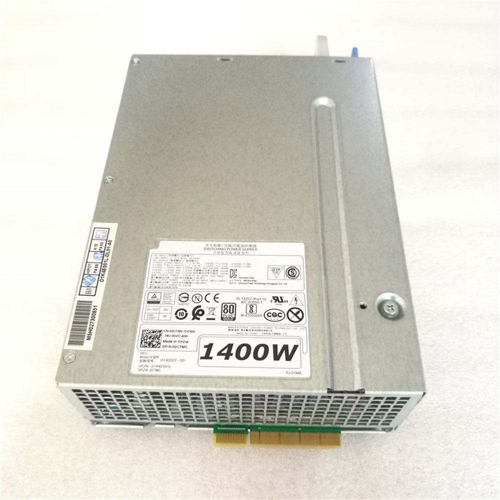 1100W AT AC INPUT 100-180V DELL H1400EF-00 adapter