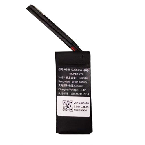 HB351329ECW 100mAh 3.82V/4.4V laptop akkus