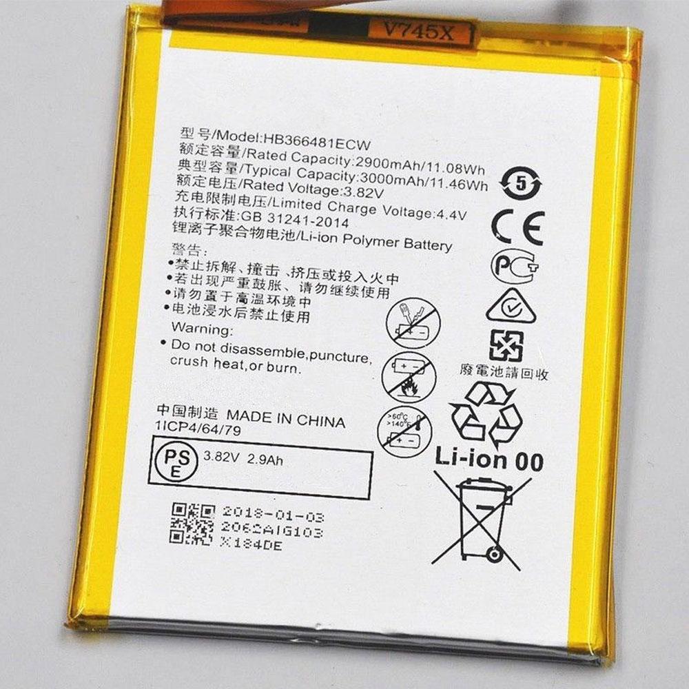 3.82V/4.35V Huawei HB366481ECW Akkus