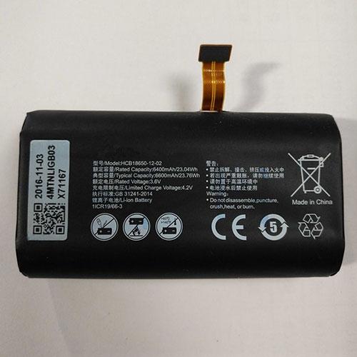 3.6V/4.2V Huawei HCB18650-12-02 Akkus