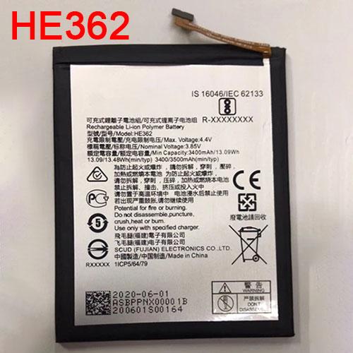 3.85V/4.4V Nokia HE362 Akkus