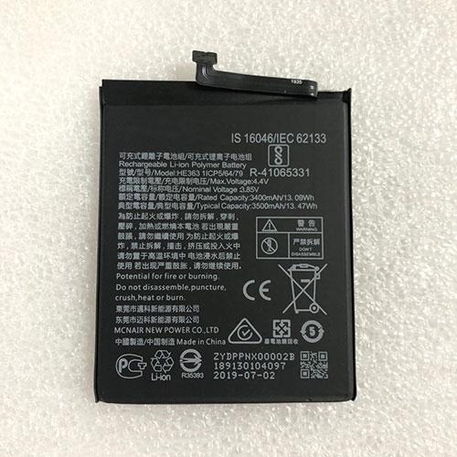 3.85V/4.4V Nokia HE363 Akkus