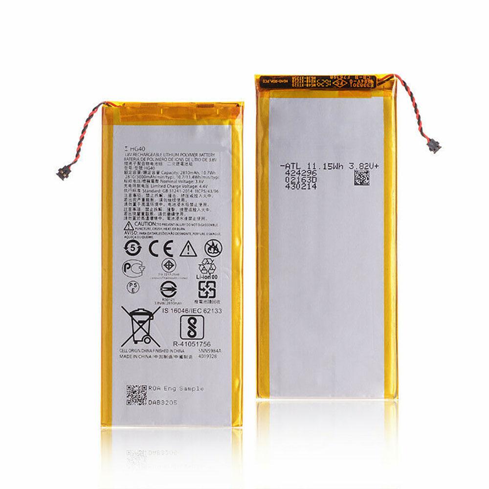 3.8V/4.4V Motorola HG40 Akkus