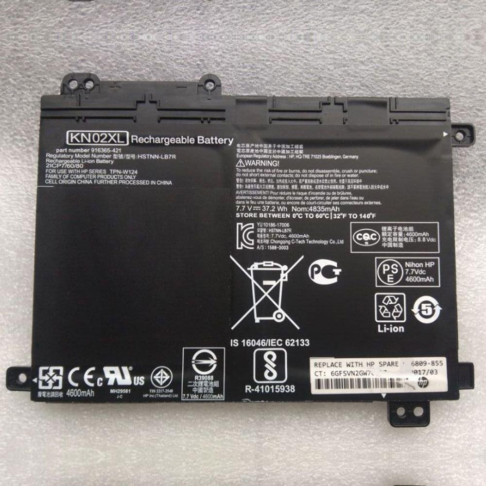 7.7V/8.8V HP KN02XL Akkus